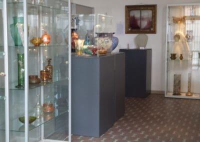 Vitrine SV100 in museum